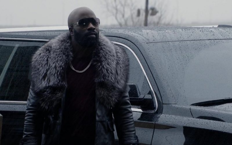Versace Sunglasses Worn by Mike Colter in Black and Blue (1)
