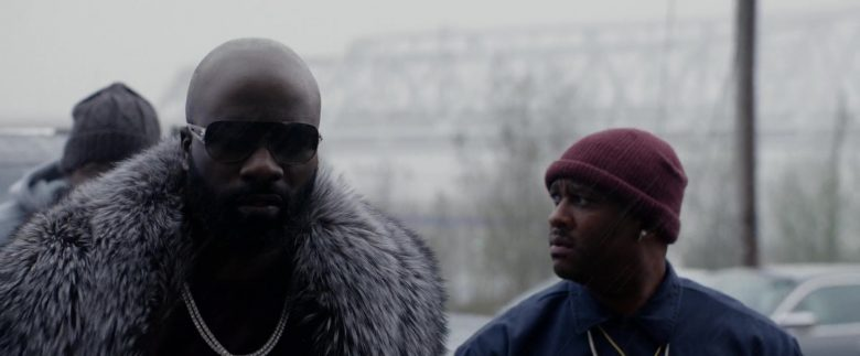 Versace Sunglasses Worn by Mike Colter in Black and Blue (2)