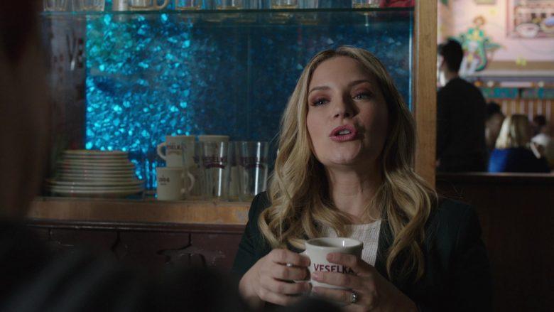 "Veselka Ukrainian Restaurant in Blue Bloods Season 10 Episode 10 ""Bones to Pick"" (2019) - TV Show Product Placement"