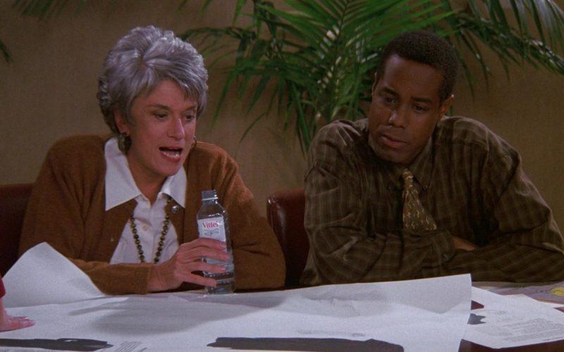 Vittel Bottled Water in Seinfeld Season 9 Episode 9 The Apology (1997)