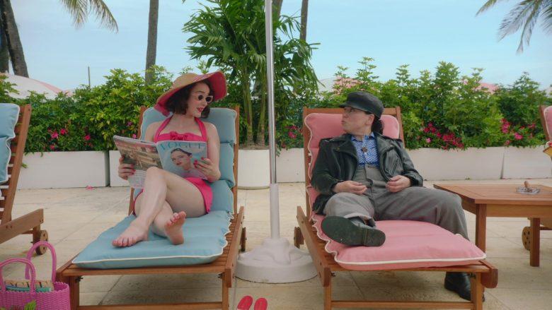 Vogue Magazine Held by Rachel Brosnahan as Miriam 'Midge' Maisel in The Marvelous Mrs. Maisel Season 3 Episode 5 (2)