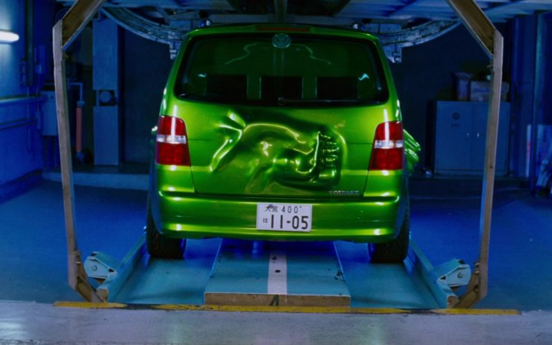 Volkswagen Touran I [Typ 1T] Green Compact MPV Car in The Fast and the Furious Tokyo Drift (1)