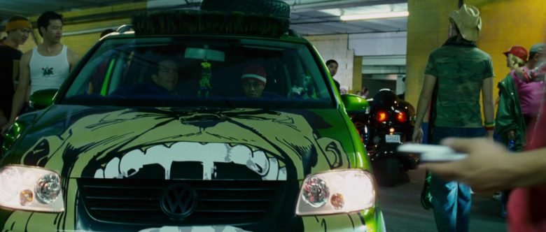 Volkswagen Touran I [Typ 1T] Green Compact MPV Car in The Fast and the Furious Tokyo Drift (10)