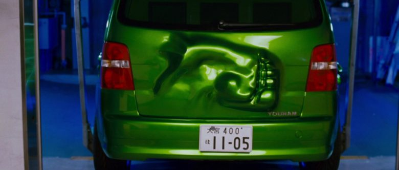 Volkswagen Touran I [Typ 1T] Green Compact MPV Car in The Fast and the Furious Tokyo Drift (3)