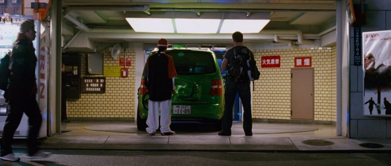 Volkswagen Touran I [Typ 1T] Green Compact MPV Car in The Fast and the Furious Tokyo Drift (4)