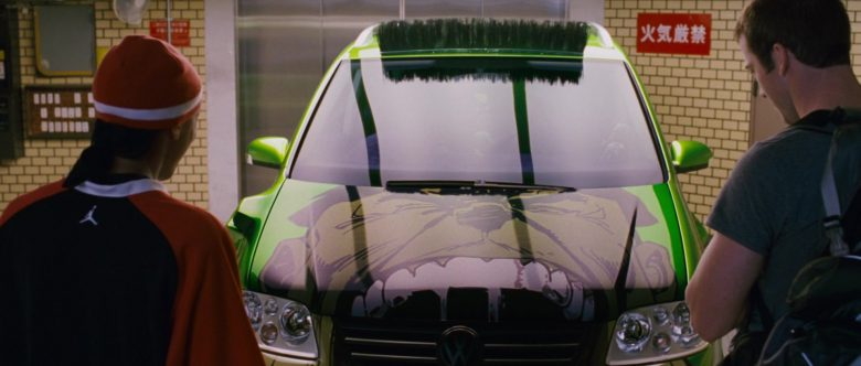 Volkswagen Touran I [Typ 1T] Green Compact MPV Car in The Fast and the Furious Tokyo Drift (7)