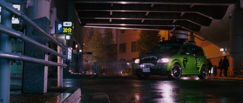 Volkswagen Touran I [Typ 1T] Green Compact MPV Car in The Fast and the Furious Tokyo Drift (8)