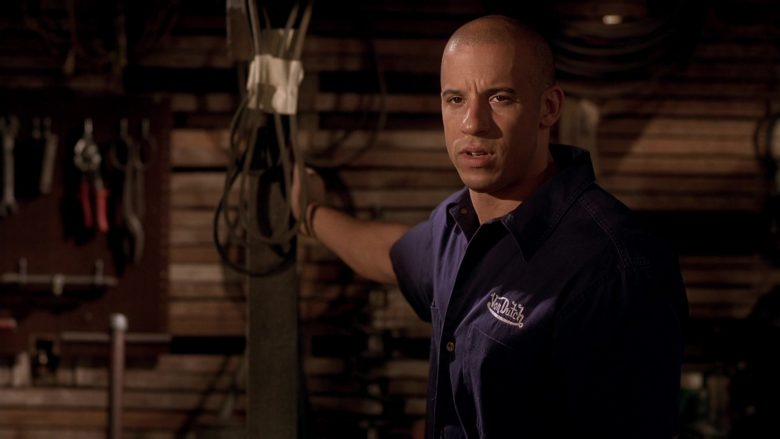 Von Dutch Shirt Worn by Vin Diesel as Dominic Toretto in The Fast and the Furious (5)