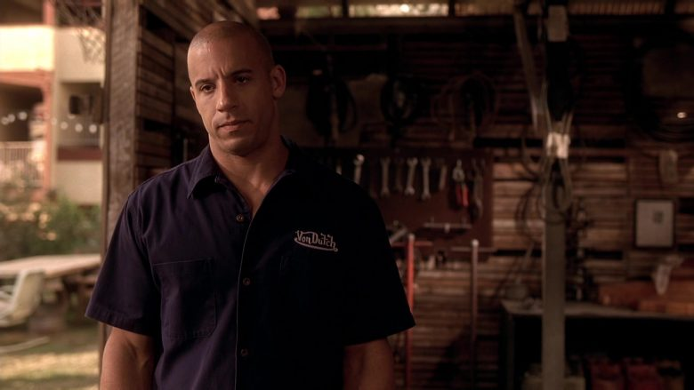 Von Dutch Shirt Worn by Vin Diesel as Dominic Toretto in The Fast and the Furious (6)