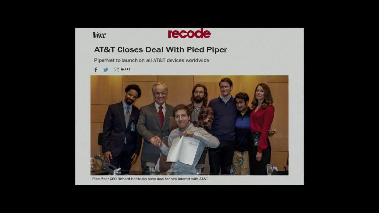 Vox, Recode, AT&T in Silicon Valley Season 6 Episode 7