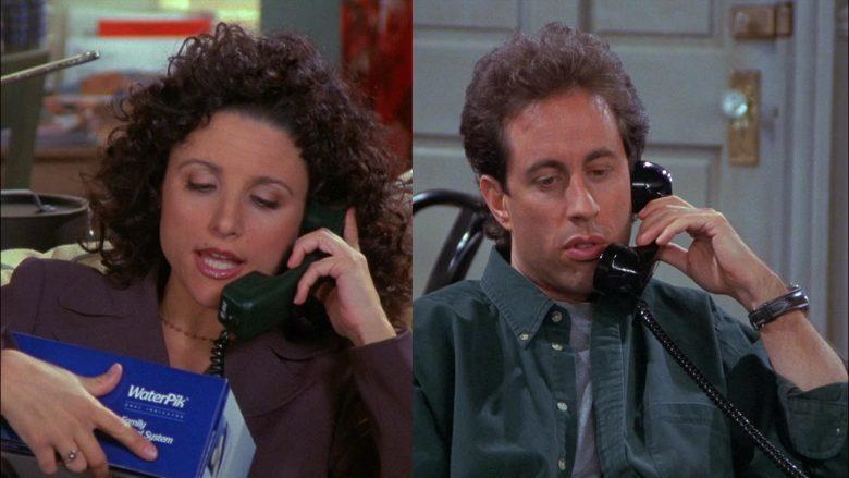 WaterPik Held by Julia Louis-Dreyfus as Elaine Benes in Seinfeld Season 8 Episode 8 (1)