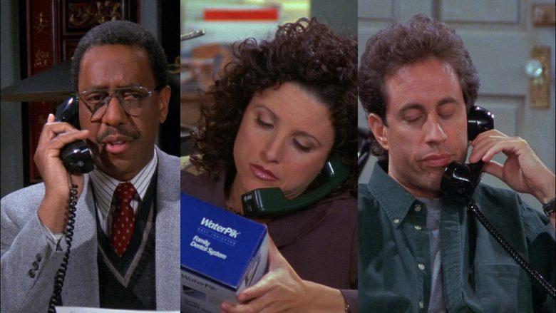WaterPik Held by Julia Louis-Dreyfus as Elaine Benes in Seinfeld Season 8 Episode 8 (2)