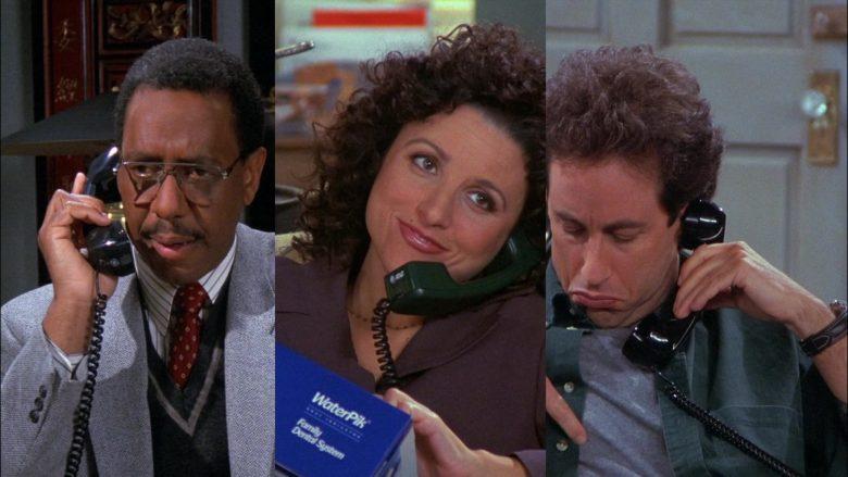 WaterPik Held by Julia Louis-Dreyfus as Elaine Benes in Seinfeld Season 8 Episode 8 (3)