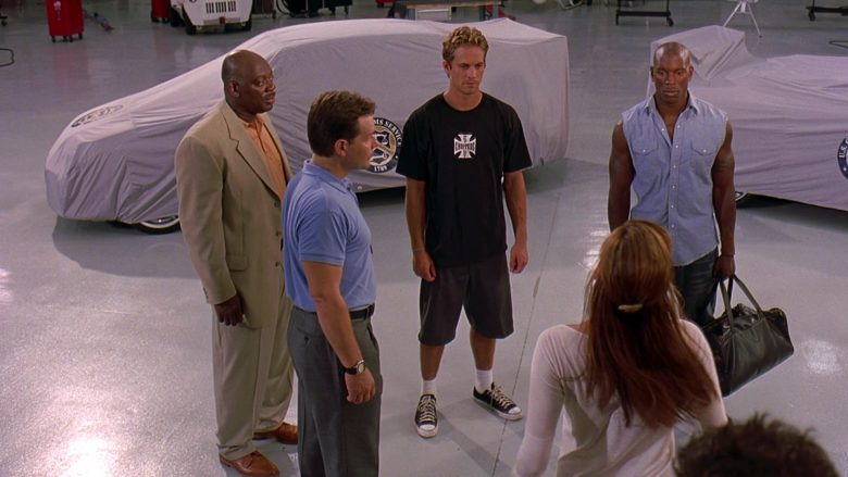 West Coast Choppers T-Shirt Worn by Paul Walker as Brian O'Conner in 2 Fast 2 Furious (2)