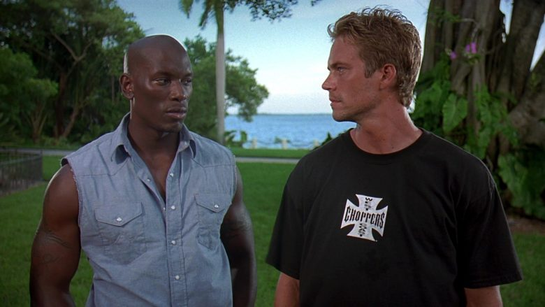 West Coast Choppers T-Shirt Worn by Paul Walker as Brian O'Conner in 2 Fast 2 Furious (3)