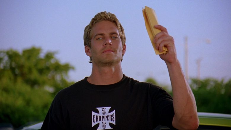 West Coast Choppers T-Shirt Worn by Paul Walker as Brian O'Conner in 2 Fast 2 Furious (4)