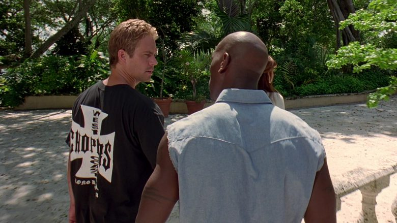 West Coast Choppers T-Shirt Worn by Paul Walker as Brian O'Conner in 2 Fast 2 Furious (5)