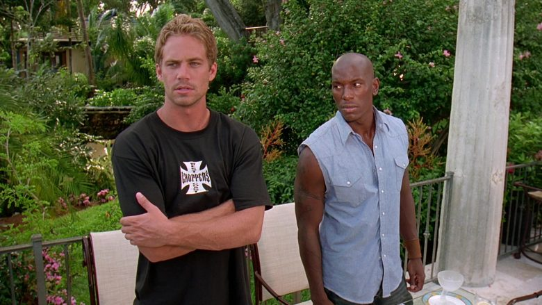 West Coast Choppers T-Shirt Worn by Paul Walker as Brian O'Conner in 2 Fast 2 Furious (6)