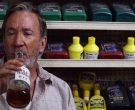 Wild Turkey Rye Whiskey Bottle Held by Tim Allen in El Camino Christmas (2)
