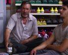 Wild Turkey Rye Whiskey Bottle Held by Tim Allen in El Camino Christmas (3)