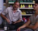 Wild Turkey Rye Whiskey Bottle Held by Tim Allen in El Camino Christmas (4)