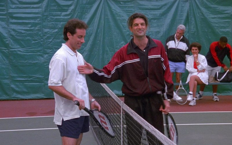 Wilson Racket Used by Jerry in Seinfeld Season 8 Episode 13 The Comeback (1)