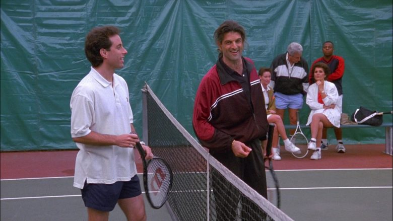 Wilson Racket Used by Jerry in Seinfeld Season 8 Episode 13 The Comeback (2)