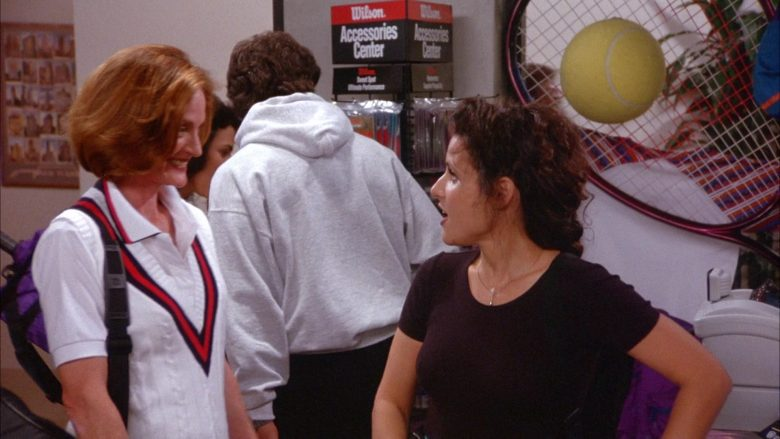 Wilson Tennis Racquets in Seinfeld Season 6 Episode 11 The Switch (2)