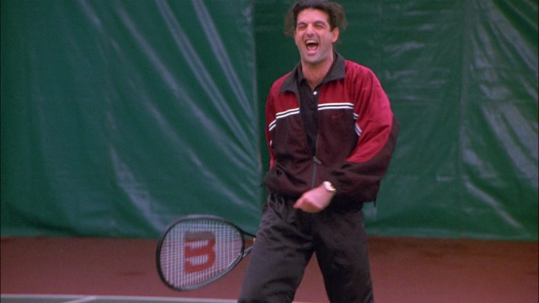Wilson Tennis Racquets in Seinfeld Season 8 Episode 13 The Comeback (3)