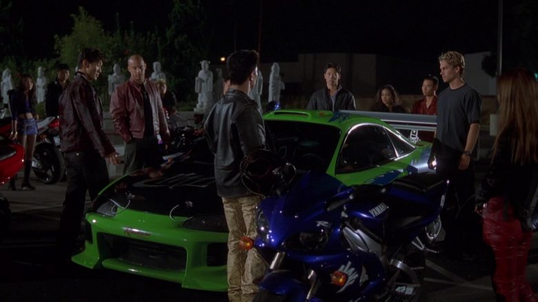 Yamaha Blue Motorcycle in The Fast and the Furious
