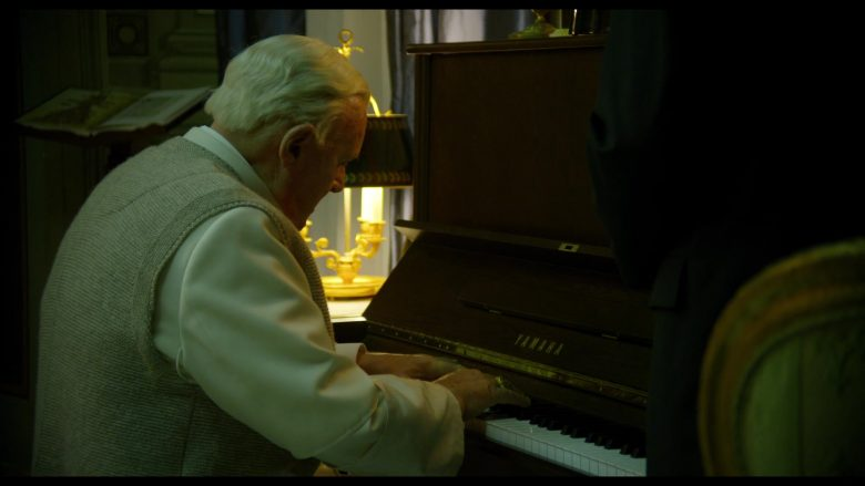 Yamaha Piano Used by Anthony Hopkins as Pope Benedict XVI in The Two Popes (2)