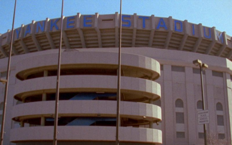 Yankee Stadium in Seinfeld Season 6 Episode 10 The Race