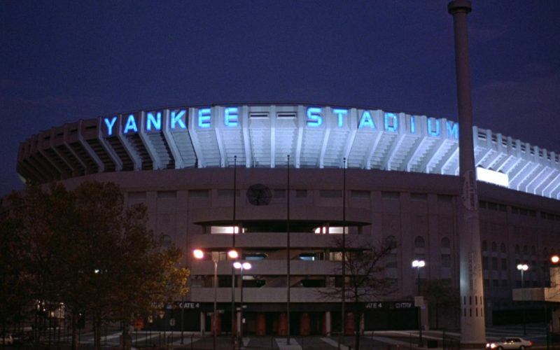 Yankee Stadium in Seinfeld Season 6 Episode 22 The Diplomat's Club