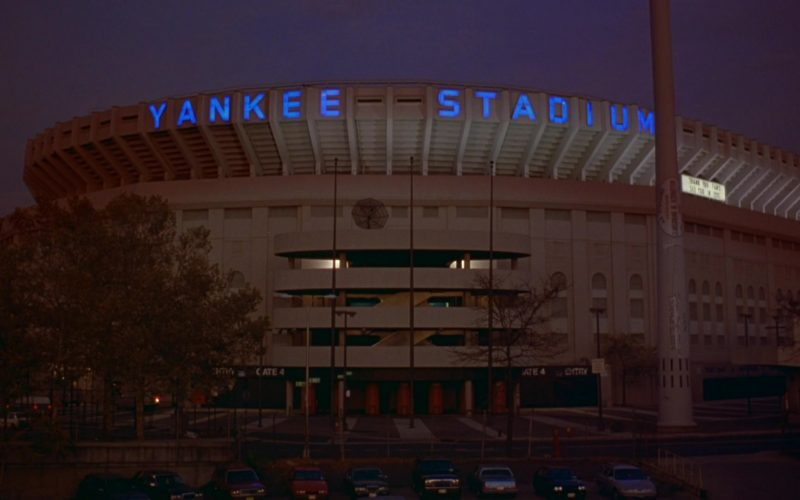 Yankee Stadium in Seinfeld Season 6 Episode 9 The Secretary (2)