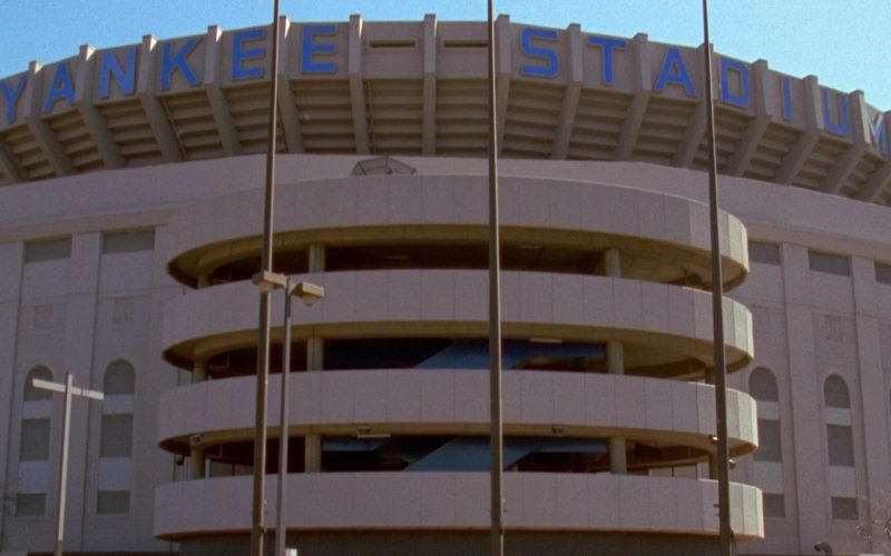 Yankee Stadium in Seinfeld Season 7 Episode 5 The Hot Tub