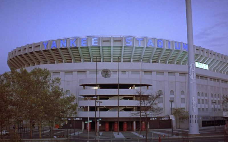 Yankee Stadium in Seinfeld Season 8 Episode 13 The Comeback