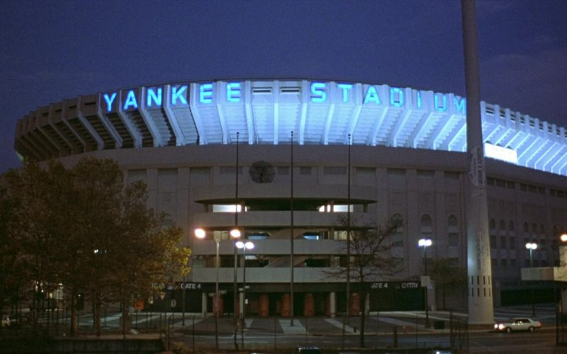 Yankee Stadium in Seinfeld Season 8 Episode 18 The Nap (1)
