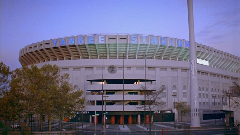 Yankee Stadium in Seinfeld Season 8 Episode 20 The Millennium