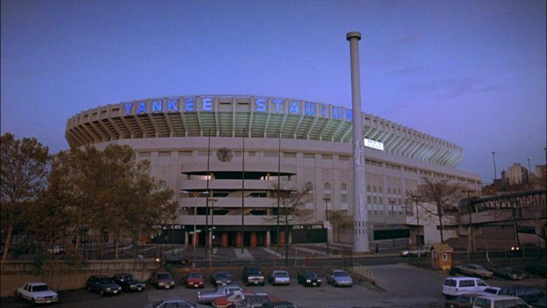 Yankee Stadium in Seinfeld Season 8 Episode 21 The Muffin Tops