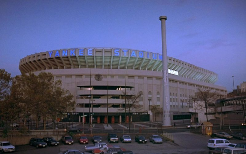 Yankee Stadium in Seinfeld Season 8 Episode 21 The Muffin Tops