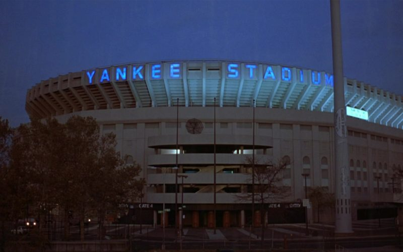 Yankee Stadium in Seinfeld Season 8 Episode 7 The Checks