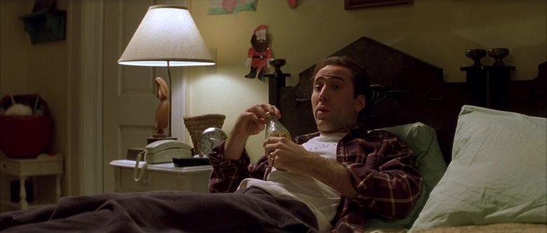 Yoo-Hoo Chocolate Drink Enjoyed by Nicolas Cage in The Family Man (1)