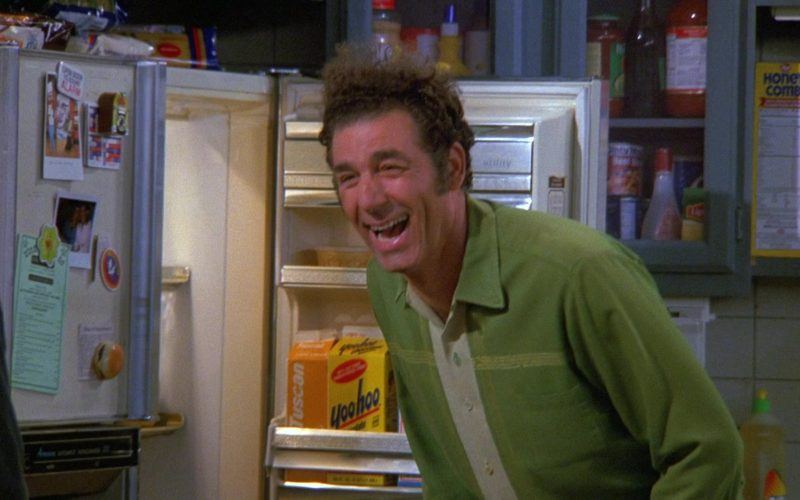 Yoo-Hoo Chocolate Drink in Seinfeld Season 9 Episode 3 The Serenity Now