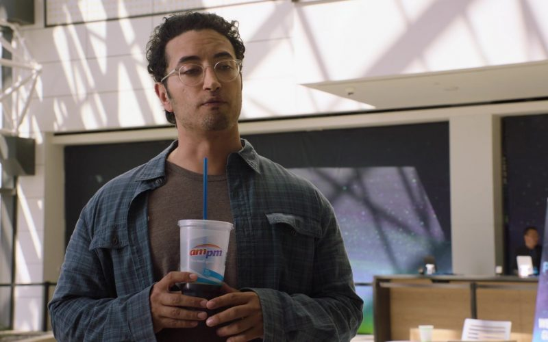 ampm Drink Enjoyed by Aristotle Athiras as Gabe in Silicon Valley Season 6 Episode 1 (2)