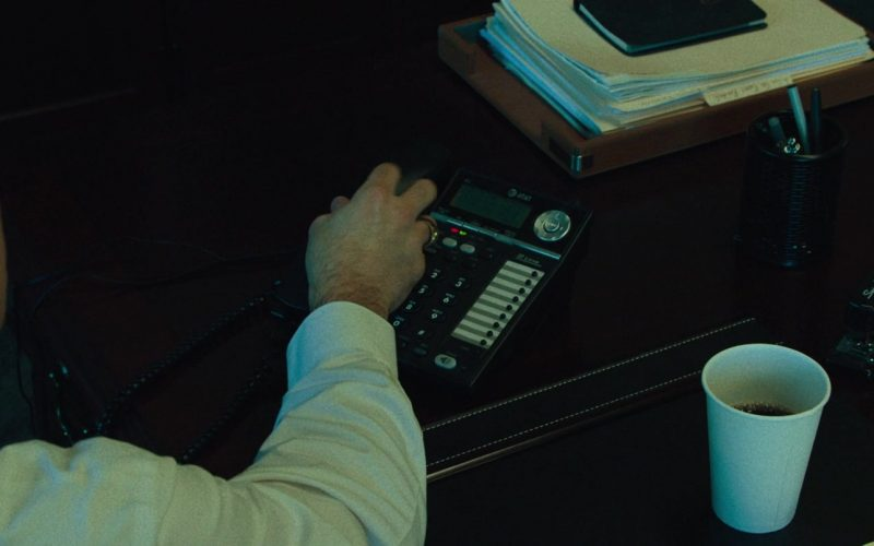 AT&T Telephone and Staples Black Stapler in Dark Waters (2019)