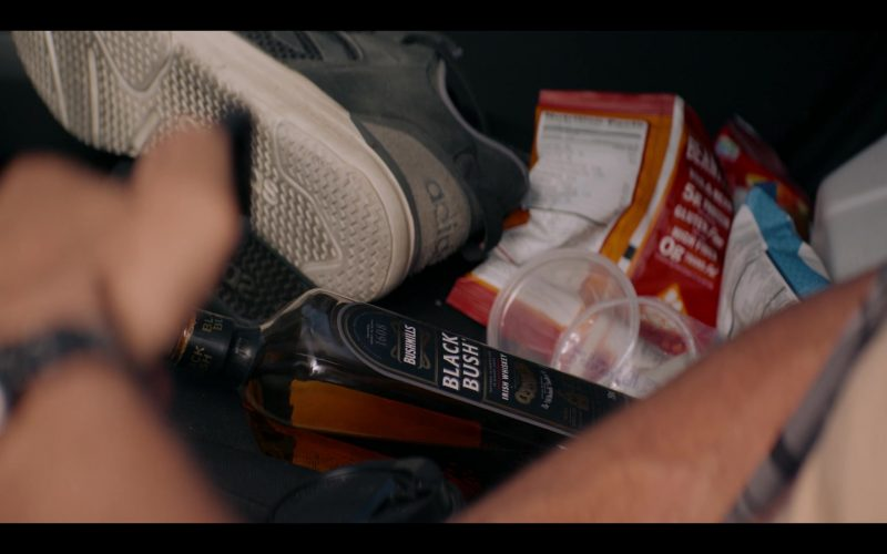 Adidas Shoe and Bushmills Black Bush Whiskey in Messiah Season 1 Episode 5 So That Seeing They May Not See