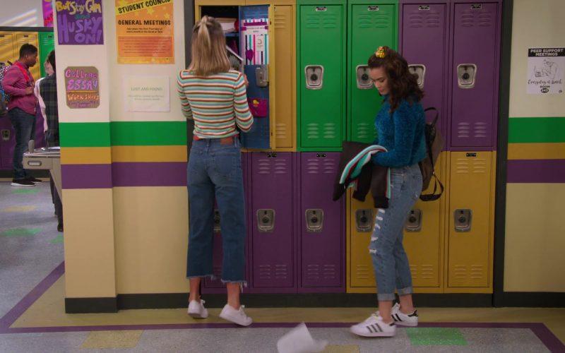 Adidas Shoes Worn by Paris Berelc in Alexa & Katie Season 3 Episode 4 Unconsciously Coupling (2)