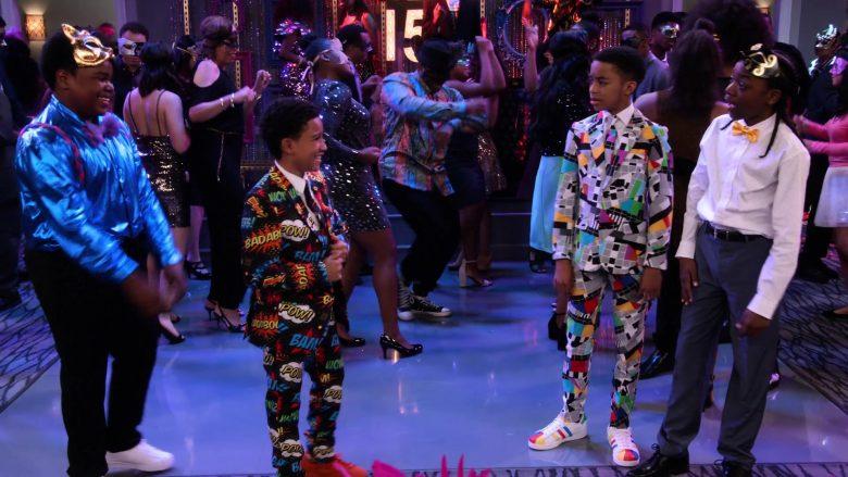 Adidas Sneakers Worn by Isaiah Russell-Bailey as Shaka McKellan in Family Reunion Season 1 Episode 20 (1)