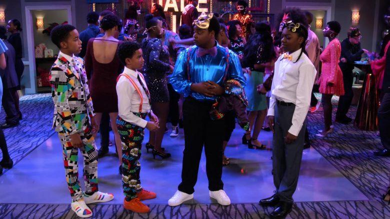 Adidas Sneakers Worn by Isaiah Russell-Bailey as Shaka McKellan in Family Reunion Season 1 Episode 20 (2)