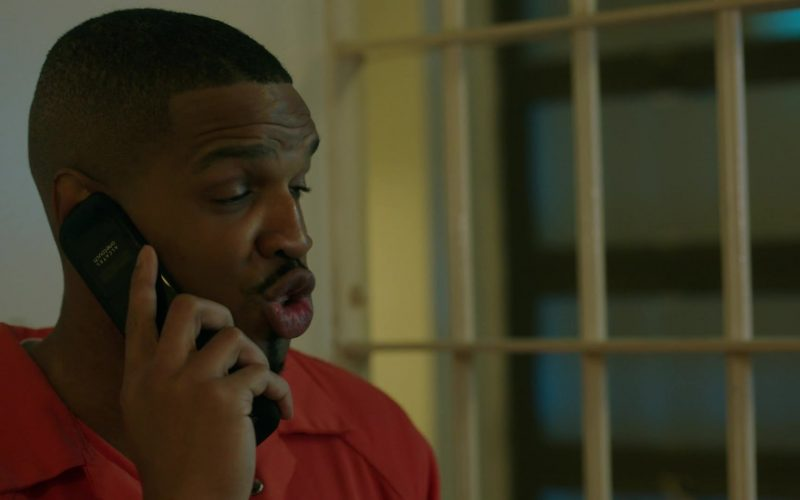 Alcatel One Touch Mobile Phone in Power Season 6 Episode 11 Still Dre (1)
